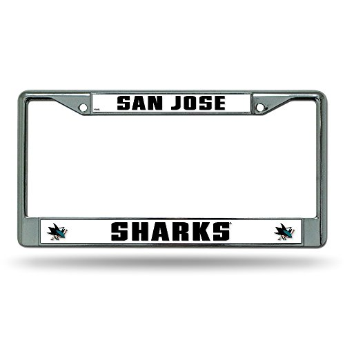 NHL San Jose Sharks Chrome Plate Frame ()
