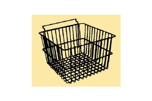 Black 12 x 12 x 8H Deep Slatwall Basket 3 Pcs Fits All Slat Panels