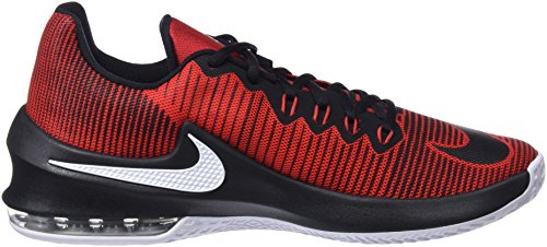 600 Homme Air Black Red II Oro Nero white Basketball Chaussures Nike Metallizzato de Max Infuriate Rouge University Hfafpq