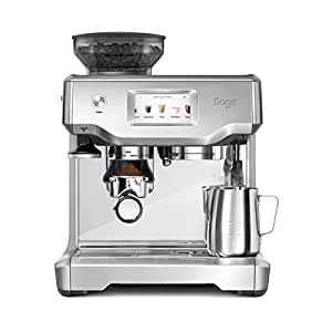 SAGE SES880BSS the Barista Touch, Cafetera espresso ...