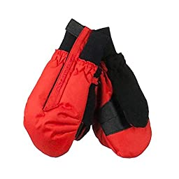 Obermeyer Boys Thumbs Up Mitten Large LAVA