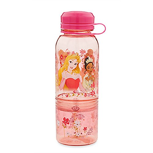 Drink Bottle Princess - Disney Store Princess Plastic Snack Drink Water Bottle New 2016