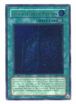 - Yu-Gi-Oh! - Clock Tower Prison (EOJ-EN048) - Enemy of Justice - 1st Edition - Ultimate Rare