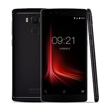 "Vernee Apollo Lite - 4G Smartphone Libre Deca-core Android 6.0 (Pantalla 5.5""FHD 1920x1080P, MT6797, 4G Ram, 32G Rom, Dual Sim, Type-C, 16MP Cámara Huella Dactilar) (Negro)"