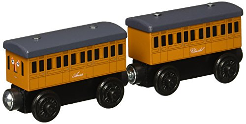 Fisher-Price Thomas & Friends Wooden Railway, Annie and Clarabel (Engine Railroad)