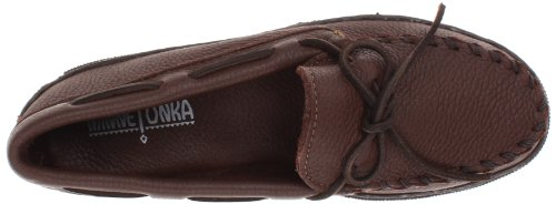 892e Uomo Classic Minnetonka Marrone Chocolate Moosehide Mocassini ATwxd7q