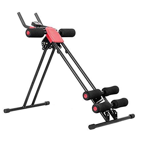 Nua Dua Ab Trainer Abdominal Trainer Ab Vertical 5 Minute Shaper Waist Trainer Core Toner Ab Cruncher Fitness Machine Equipment W/LED Counter