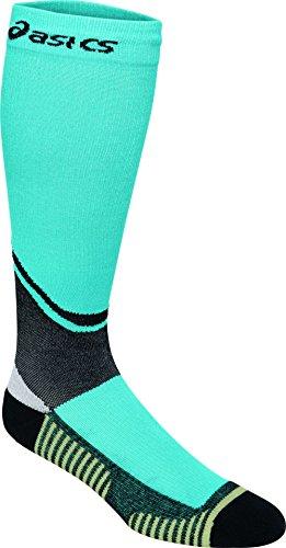 ASICS Rally Knee High Socks, Turquoise, Medium