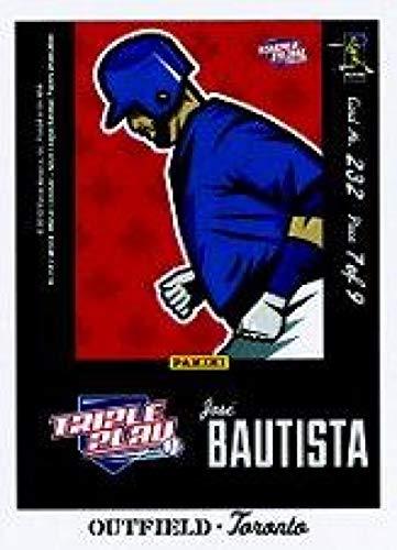 (2012 Panini Triple Play Cartoons Home Puzzles #232 Jose Bautista NM-MT Blue Jays)