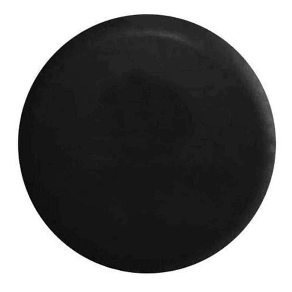 censhaorme Carcasas de Repuesto Cubierta de neumá ticos Cuero Universal de PVC Negro Impermeable a Prueba de Polvo del Coche Auto del neumá tico CY1001148059916
