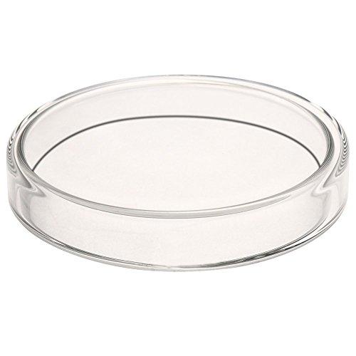Glass Petri Dish Petri Plates Tissue Culture Plate 5 Pcs (90 mm)