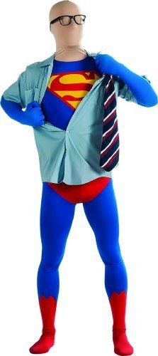 Rubie's superhero 2nd skin full body suit costume