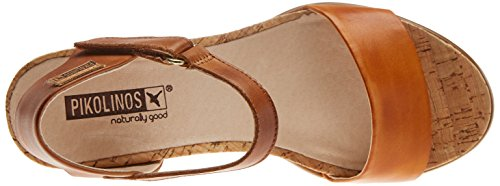 Sandals Ankle Lava Orange Vigo Pikolinos W3r Women's Strap wqROSXF