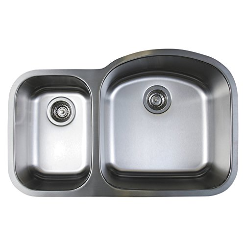Blanco 441262 Stellar 1.6 Bowl Reverse Kitchen Sink, Stainless Steel (Sink Bowl Reverse)