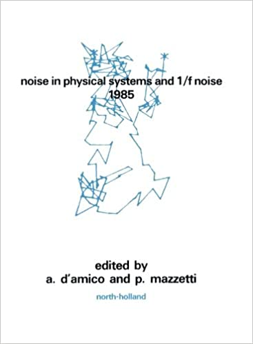Descargar En Libros Noise In Physical Systems And 1/f Noise - 1985 PDF Web
