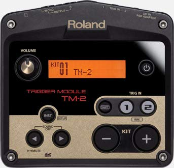 Roland TM2 Trigger Module with RT-30K Acoustic Drum Trigger Bundle with 1 Year Free Extended Warranty and Microfiber by COR (Image #1)
