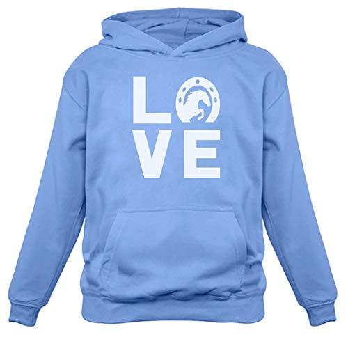 Love Horses - Animal Lover Rearing Horse - Gift for Horse Lover Women Hoodie Small California Blue