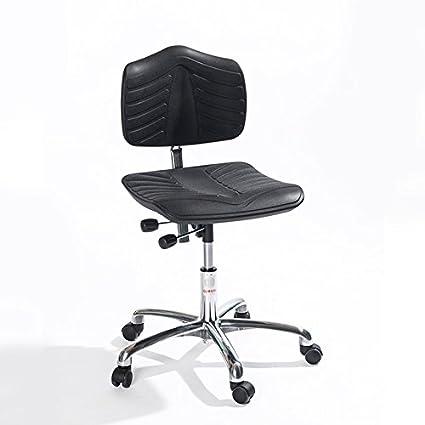 Taburete giratoria, 52 – 65 cm asiento altura, extra soft, de aluminio Base