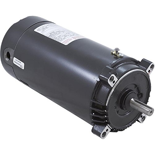 Pool Pump Motor, 1 HP, 3450 RPM, - Keyed Motor Shaft Pool Pump
