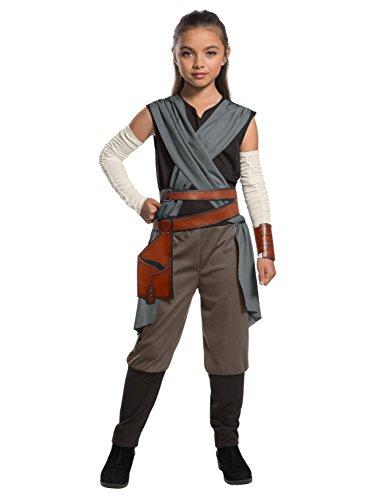 Rubie's Star Wars Episode VIII: The Last Jedi, Child's Rey Costume, Large