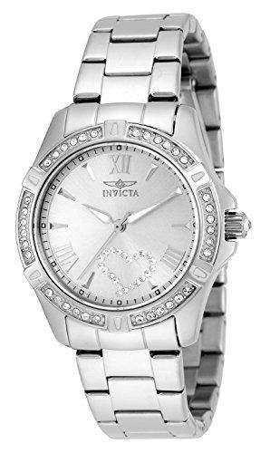 Invicta Women's 21383 Angel Analog Display Quartz Silver Watch