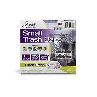 Amazon.com: Color Scents 1527271 - Bolsas de basura pequeñas ...