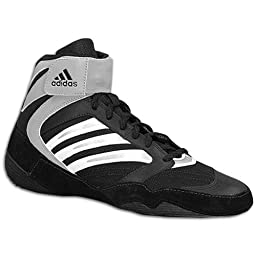 New AdidasTyrint lll Wrestling Shoes 464024 Men\'s 7 Black/White/Silver