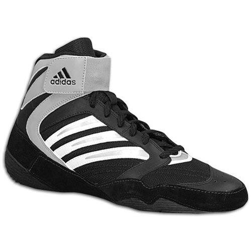 Neu AdidasTyrint lll Wrestling Schuhe 464024 Herren 7 Schwarz / Weiß / Silber