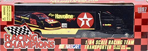 - 1997 - Racing Champions - Ernie Irvan #28 - NASCAR - 1:64 Scale Racing Team Transporter - Havoline Racing - RYR - Collectible