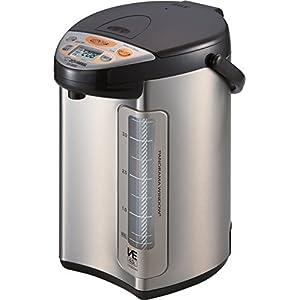 Zojirushi America Corporation CV-DCC40XT VE Hybrid Water Boiler and Warmer, 4-Liter, Stainless Dark Brown by Zojirushi