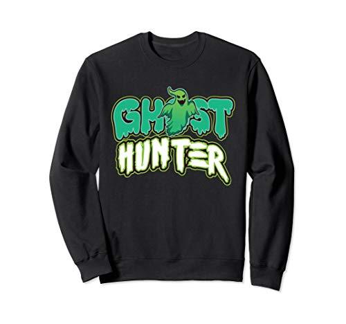 Funny Ghost Hunter Costume Sweatshirt Halloween Gift ()