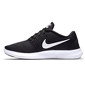 NIKE Women's Free RN Running Shoe Black/Anthracite/White Size 7.5 M US