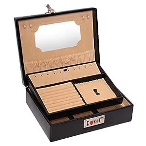 Laveri Jewelry Box, Black