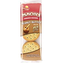 Munchies Peanut Butter on Toast Crackers, 1.42 Ounce (Pack of 24)