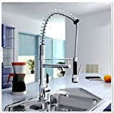 LI Dual-use the kitchen faucet. Spring kitchen faucets, pull faucet