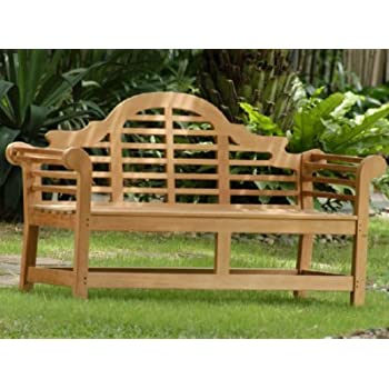 Atlanta Teak Furniture   Teak Lutyens Bench   5u0027 Grade A
