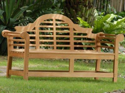 Atlanta Teak Furniture - Teak Lutyens Bench - 5' Grade-A - Frontgate Outdoor Furniture