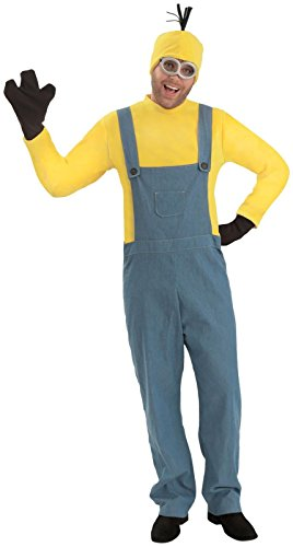 Princess Paradise Men's Minions Deluxe Kevin Costume Jumpsuit, As Shown, Large/X-Large -