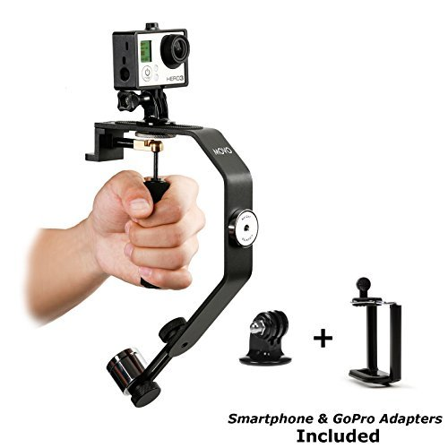 Movo Photo VS01-SP Handheld Video Stabilizer System with Counterweights for GoPro HERO, HERO2, HERO3