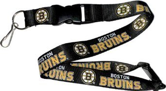 Boston Bruins Keychain - NCAA Boston Bruins NHL-LN-095-07 Team Lanyard, One Size, Multicolor