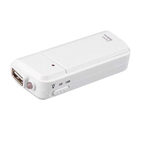 Soulitem Universal portátil USB Emergencia 2 AA Battery ...