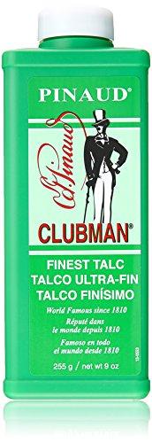 Clubman Pinaud Finest Talc Powder, 9 Ounce (Pack of (Clubman Talc Powder)
