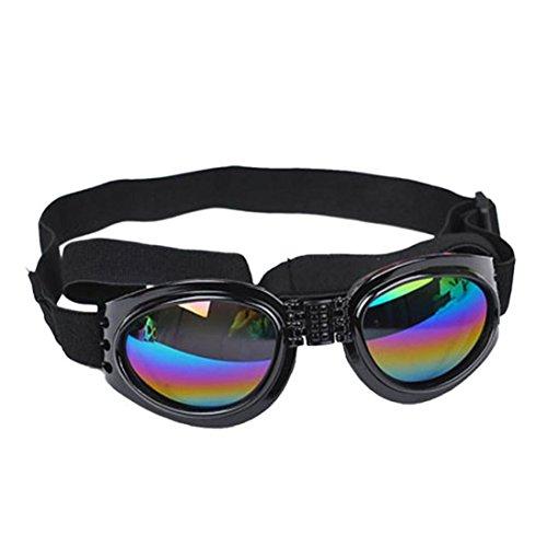 Baishitop Water-Proof Multi-Color Pet Sunglasses Goggles 13.22 lbs above Dog Sunglasses - Canine Sunglasses