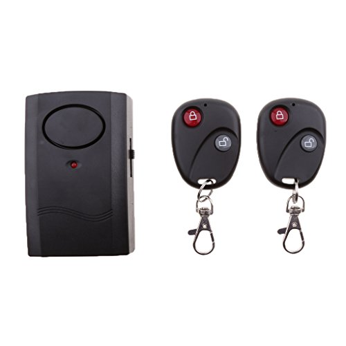 Jili Online Wireless Dual Remote Control Bike Bicycle Alarm Shock Vibration Sensor Cycling Lock Guard Burglar Alarm