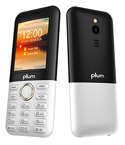 Plum TAG - Unlocked 3G GSM Phone 2.4'' Display Big Key Pad FM Radio Camera W/Flash ATT Tmobile MetroPCS Cricket - White by Plum (Image #6)