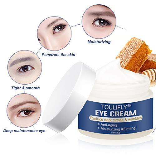 41YPKoO lrL - Under Eye Cream, Eye Repair Cream, Anti-Aging Eye Cream, Eye Cream for Dark Circles & Puffiness & Under Eye Bags, Nourishes Skin & Fights Wrinkles, Rapid Wrinkle Repair Eye Skin