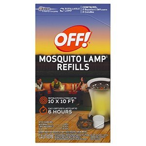 Mosquito Lamp Refill - (3 Boxes) Off! Mosquito Lamp Refills [2 Candles & 2 Diffusers]