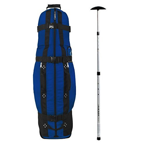 Club Glove Last Bag Collegiate Golf Travel Cover w/ Free Stiff Arm (Royal)