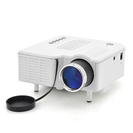 Mini LED proyector multimedia portátil PortiMax II: Amazon.es ...
