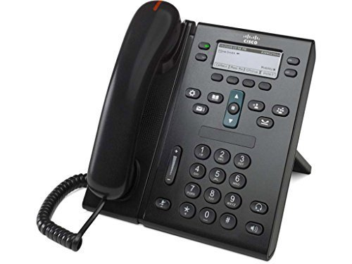 Cisco Unified IP PoE Office Phone 6941 (CP-6941-C-K9) (Renewed) by Cisco